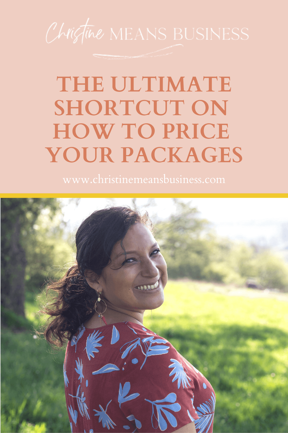 The ultimate shortcut on how to price your packages