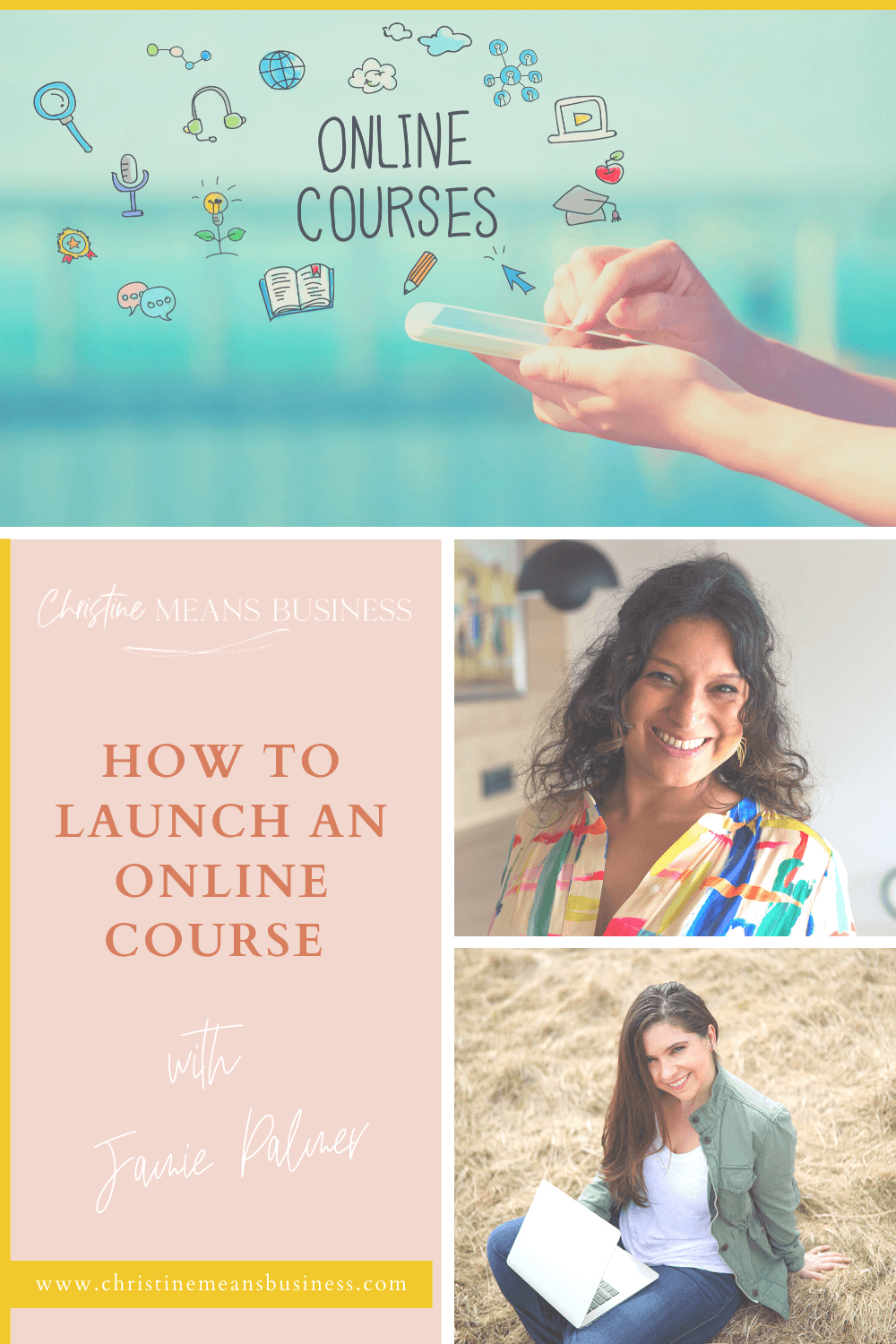 How to launch an online course with Jamie Palmer