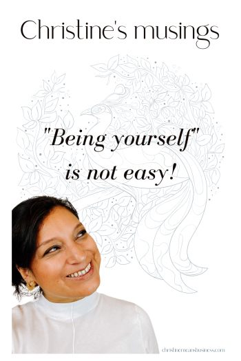 Bring yourself is not easy Pin