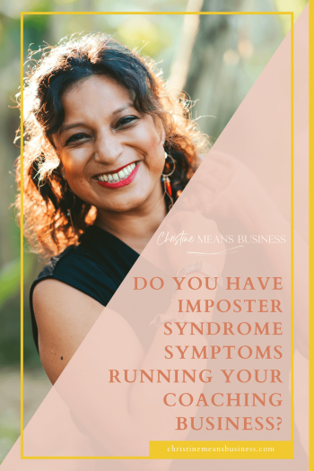 Do you have imposter syndrome symptoms