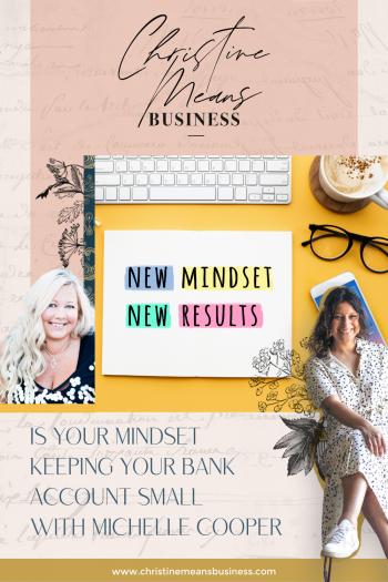 Mindset Finances Michelle Cooper Pin