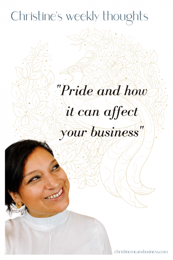 Pride and how it can affect your business PIN