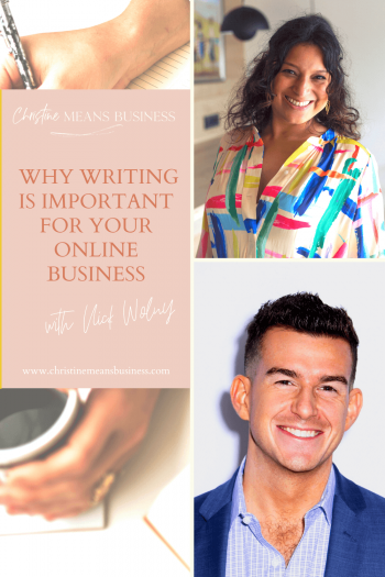 What is content and why writing is Important for Your Online Business with Nick Wolny