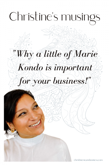 Why a little of Marie Kondo or Home Editing is important for your business Pin