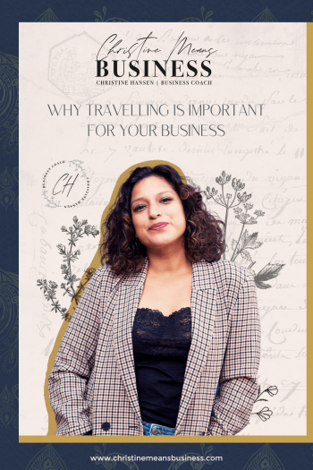 Why travel is important for business
