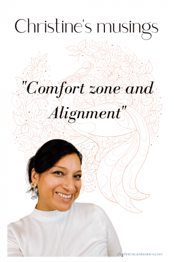 comfort zone and alignment pin
