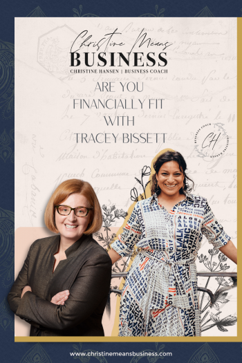 Are you financially fit with Tracey Bissett
